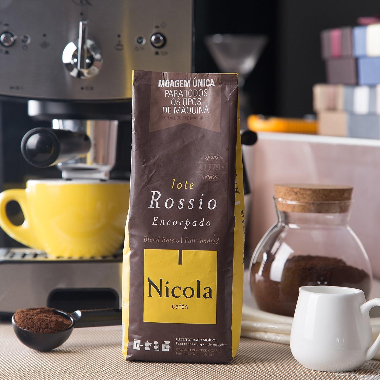 Café Nicola Rossio Molido 250 gr: Amazon.es: Alimentación y bebidas
