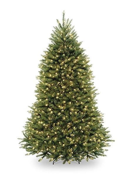 Amazon.com: 6.5' Pre-Lit Dunhill Fir Artificial Christmas Tree ...