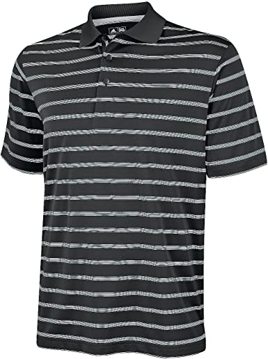 adidas - Polo de Manga Corta a Rayas Modelo Textured Stripe para ...