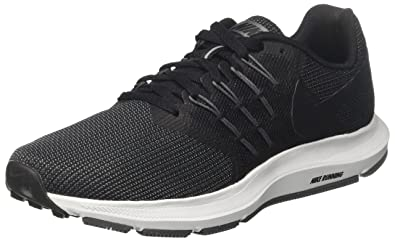 b220944c891 Nike Women s Run Swift Sneaker Black Metallic Hematite - Dark Grey 5  Regular US