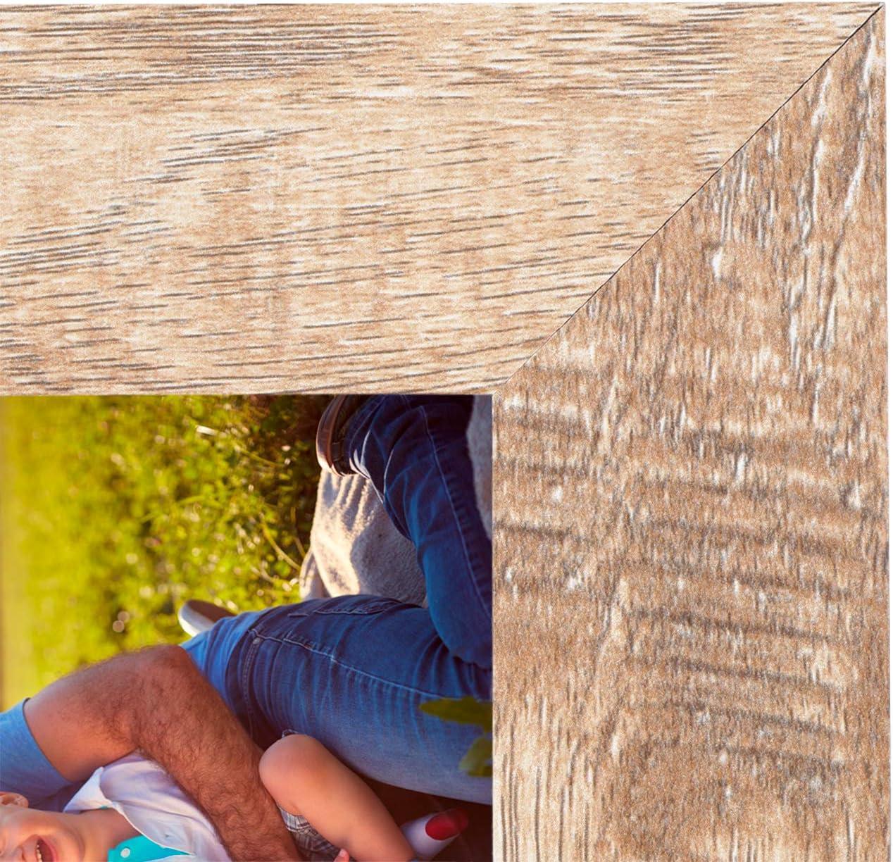 Vintage Cadre en Bois Rustique Cadre Photo avec Verre Haute d/éfinition pour Un Affichage de Dessus de Table Mural Lot de 3 Bois Vintage, 5x7 HelaAccueil Cadres Photo en Bois