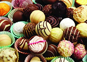 1000 Piece Puzzle for Adults: Challenging Chocolates Jigsaw Puzzle