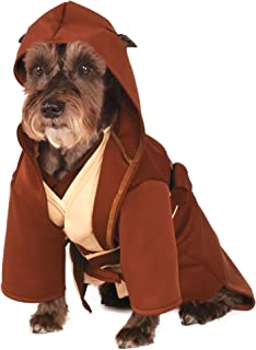 Rubieu0027s Star Wars Classic Jedi Robe Pet Costume Large  sc 1 st  Amazon.com : wookie costume for dog  - Germanpascual.Com