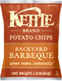 Kettle Brand Potato Chips, Backyard Barbeque, 1.5-Ounce Bags (Pack of 24)