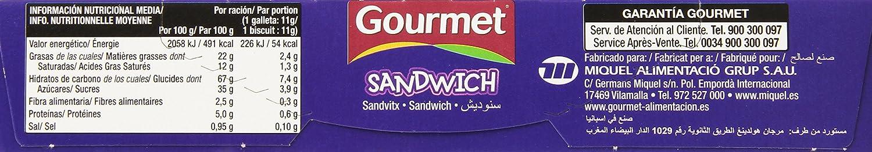 Gourmet Sandwich Galletas de Cacao Rellenas de Crema - 176 g: Amazon.es: Amazon Pantry