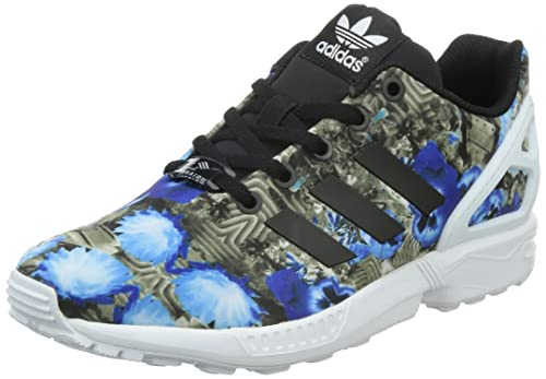 1d7632a4403 adidas Originals Girl s Zx Flux K Black and White Sports Shoes - 3 UK India