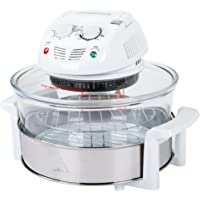 Classic Cuisine 82-CC-1000 12-17 Quart 1200W Halogen Tabletop Oven, White