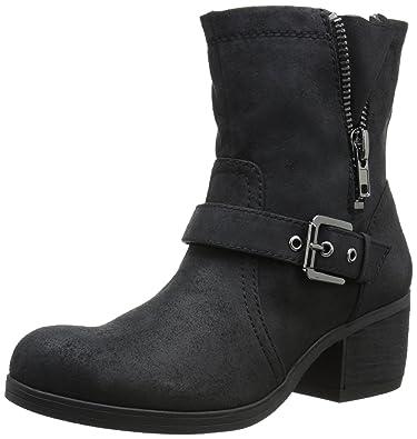 Womens Boots CARLOS by Carlos Santana Rolla Black