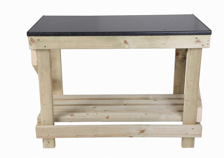 mc Holz Products Ltd 4 ft Heavu Duty Werkbank mit Küche Stil Top ...