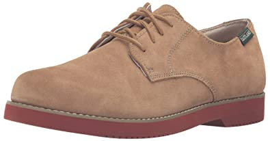 Eastland Mens Suede Buck Oxford Oxfords Taupe