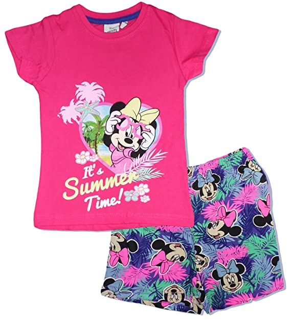 Disney - Pijama - para Niña Multicolor Rosa 2 Años