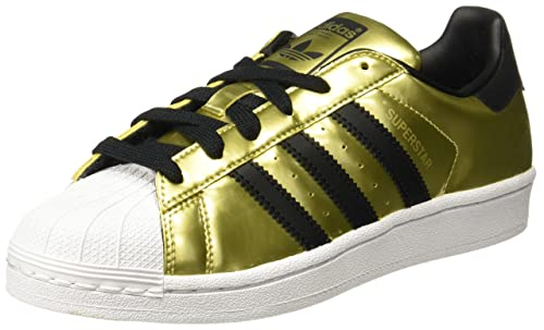 2e1b930ab17e adidas Originals Women s Superstar W Goldmt Cblack Ftwwht Sneakers - 4 UK  India (36.67 EU)  Buy Online at Low Prices in India - Amazon.in