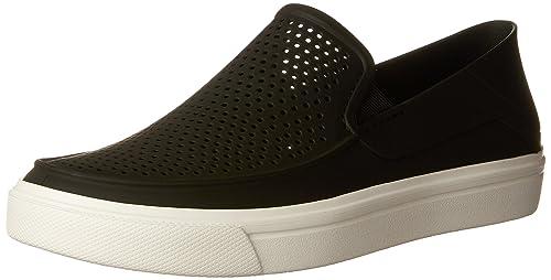 a22104b935be Crocs Women s Citilane Roka Slip-On Flat  Crocs  Amazon.ca  Shoes ...