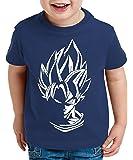 WhyKiki Super Son Camiseta para Niños T-Shirt Goku Dragon Master Ball Vegeta Turtle Roshi Db