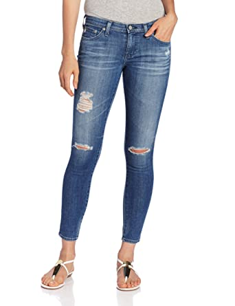 3d1d7bbe339c2 Amazon.com: AG Adriano Goldschmied Women's Ankle Legging Jean in 16 Year  Swap Meet, 29: Clothing