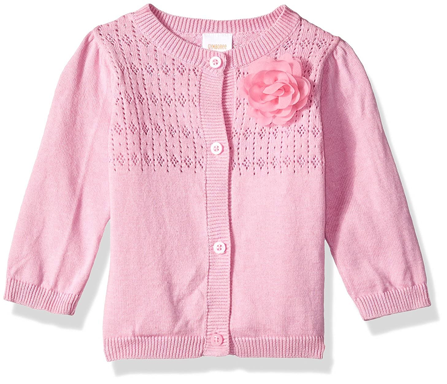 Gymboree Baby Girls Long Sleeve Classic Cardigan