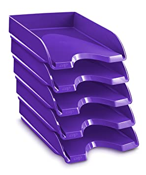 CEP Gloss - Lote de 10 bandejas compactas, color violeta
