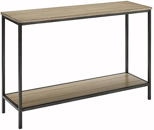Crosley Furniture Brooke Console Table – Washed Oak
