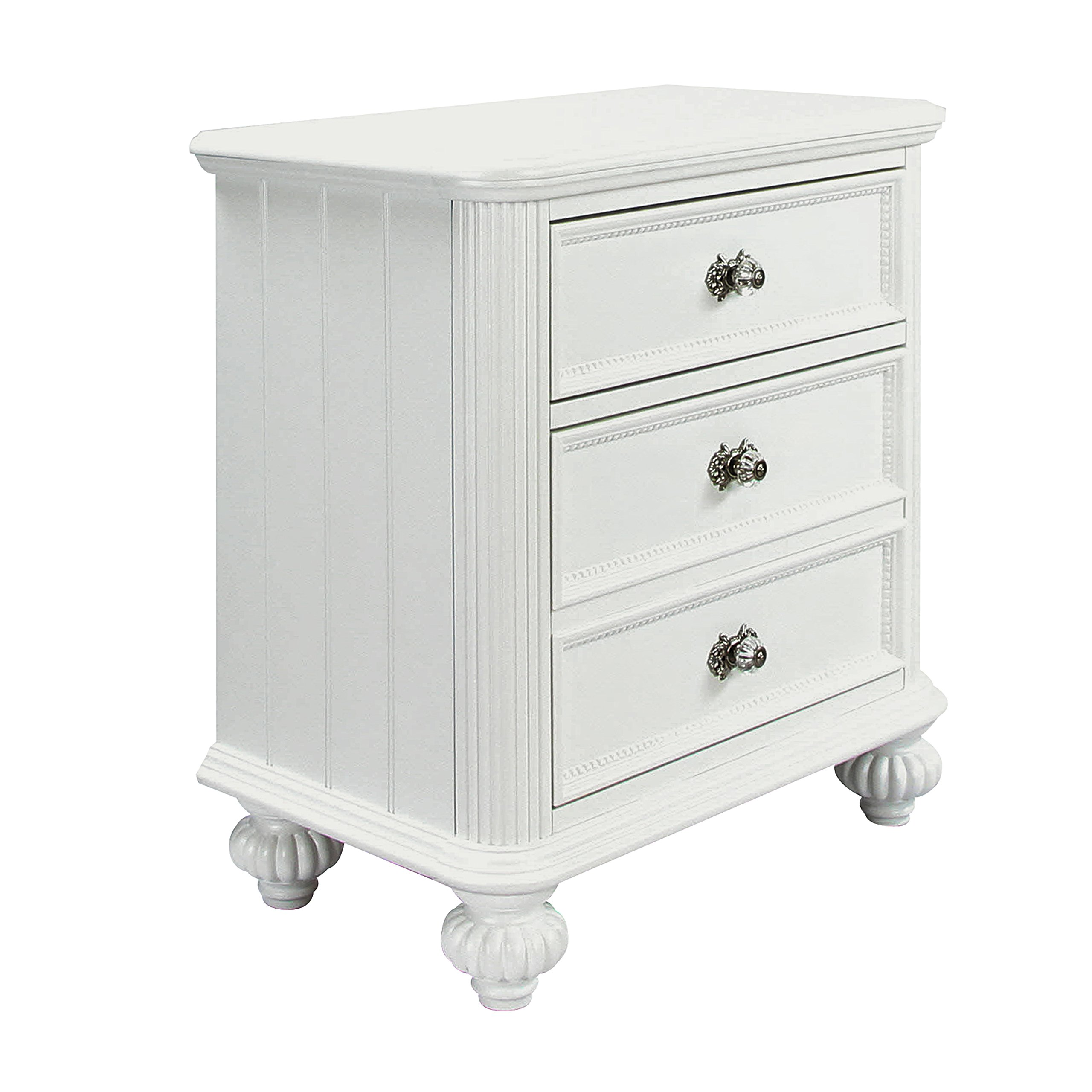 Acme 30009 Athena Nightstand, White by acme