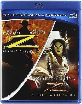 Pack La Mascara Del Zorro + La Leyenda Del Zorro (Blu-Ray) (
