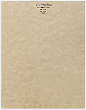 Printable Old Parchment Semblance 11X14 Inches Scrapbook Picture-Frame Size 100 Natural Parchment 65lb Cover Paper Sheets 11 X 14 Inches Cardstock Weight Colored Sheets 11 X 14