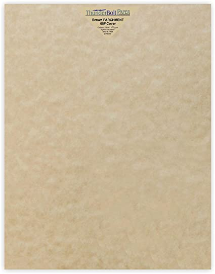photograph relating to Parchment Paper Printable identify 50 Sandy Brown Parchment 65lb Protect Fat Paper - 11\