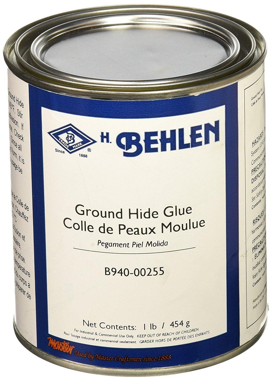 Ground Hide Glue, 1 Pound (6-Pack)