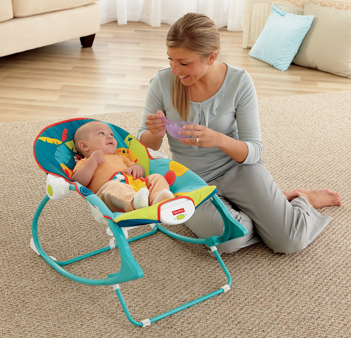 Top 10 Baby Bouncers And Vibrating Chairs Reviews - cover
