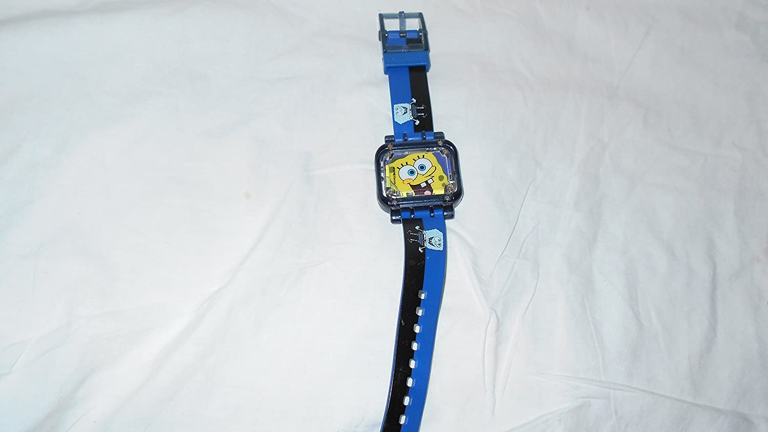 Amazon.com: SUPER RARE SPONGEBOB SQUAREPANTS WATCH BURGER KING HARD ...