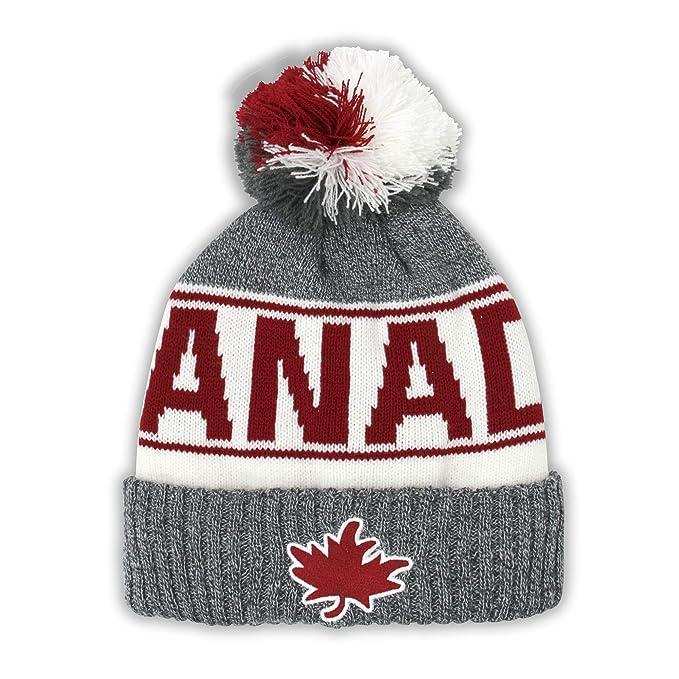 Amazon.com  Canada Sport Warm Winter Hat Beanie True North Travel Tuque   Clothing f081d3e185b