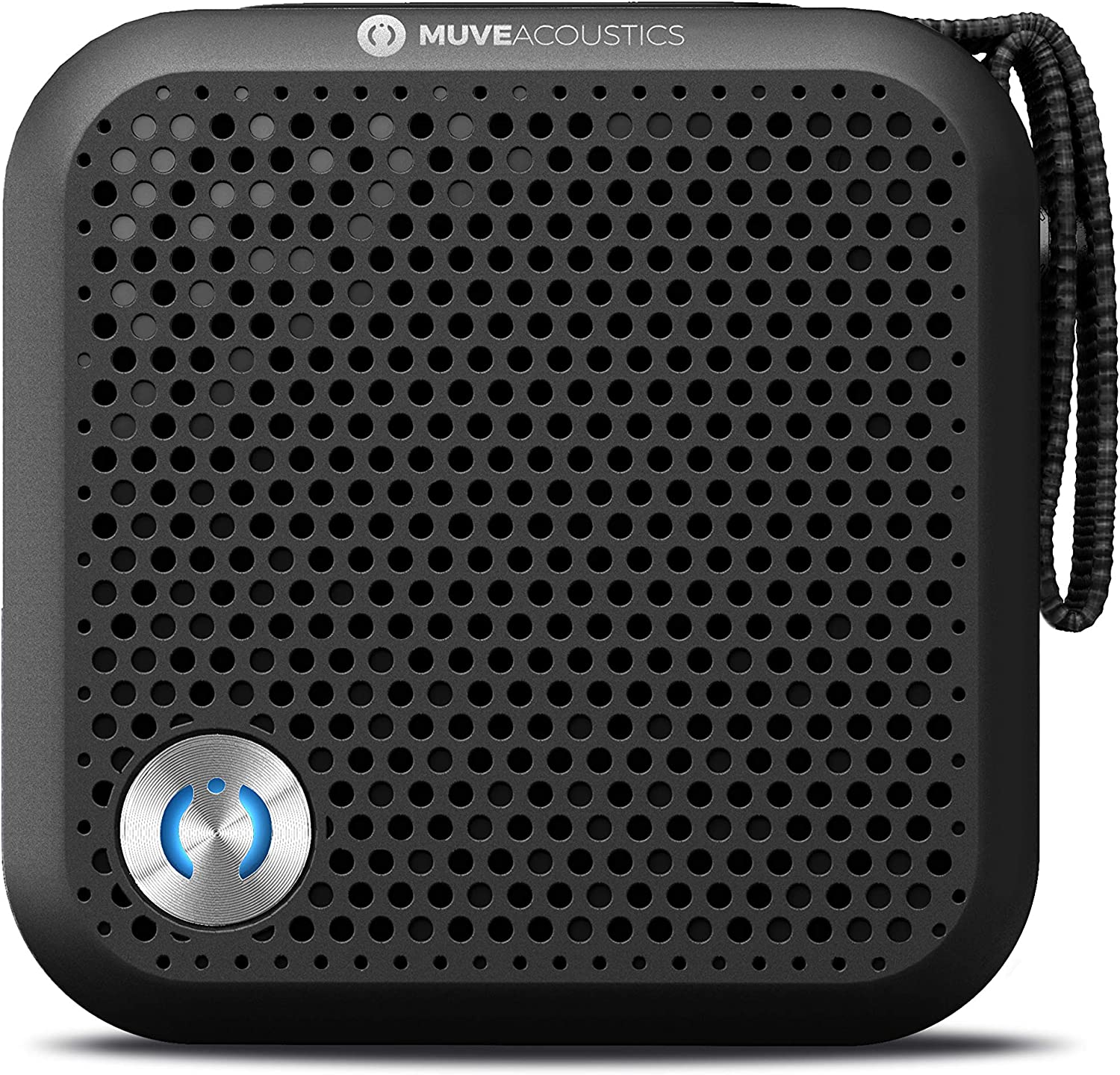 Amazon Com Muveacoustics A Plus Portable Bluetooth Speaker Loudest Wireless Stereo Sound For Home And Travel With Up To 7 Hours Of Playtime Black Home Audio Theater