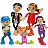 Hape Modern Family 5 Bendable Wooden Doll Set