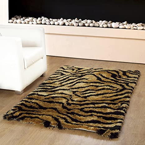 buy homefurry tiger s skin area rug 4 x 6 feet online at low