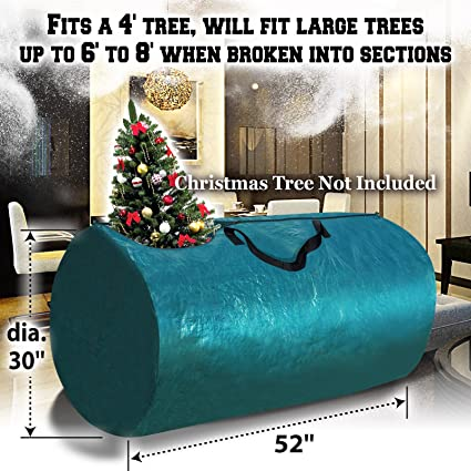 benefitusa artificial christmas tree bag clean up holiday for up to 8ft9ft tree storage - Christmas Tree Bags Amazon