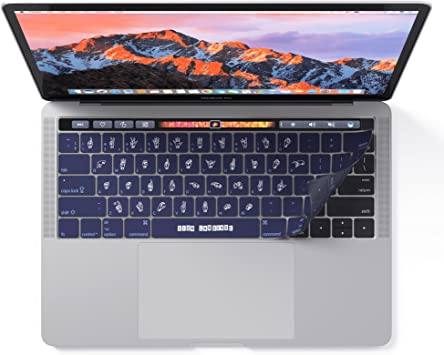 Lenguaje de signos Funda para teclado de MacBook Pro con Touch Bar – Cool Skin