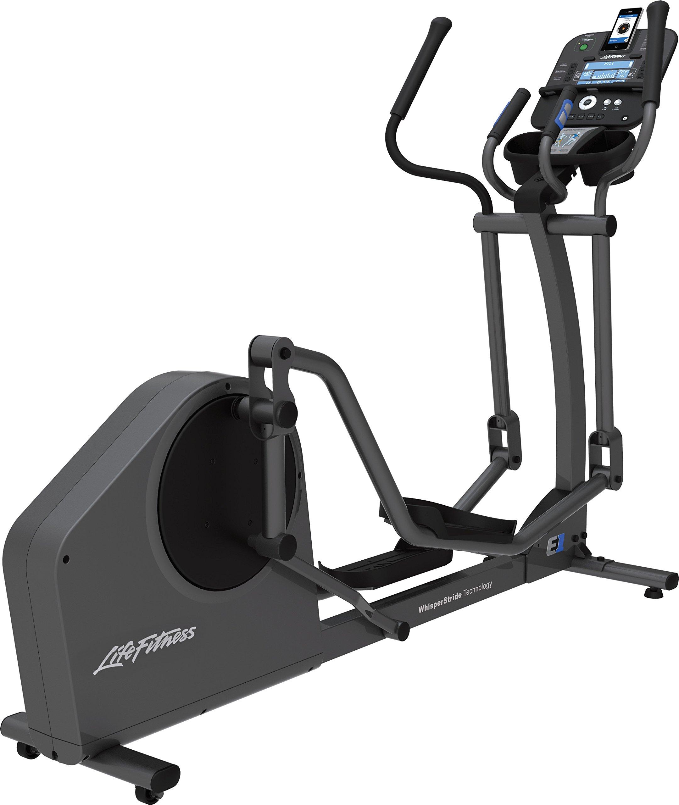 Life Fitness E1 Track and Cross-Trainer, Titanium
