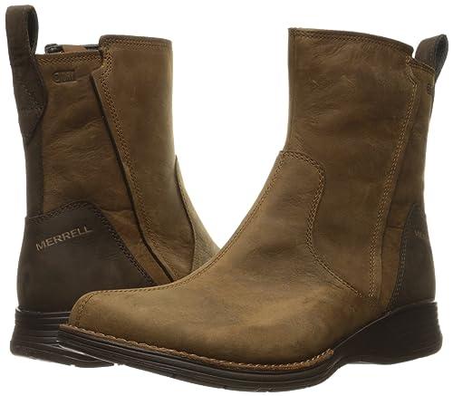 Merrell Travvy Waterproof Boot Women, Merrell Tan, 35.5 B(M) EU
