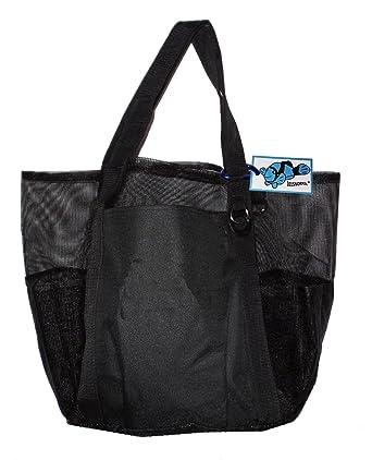 Super Big Gran Familia malla bolsa de playa bolso - 24 en X 16 en X 10 en * puede ser personalizado...: Amazon.es: Ropa y accesorios