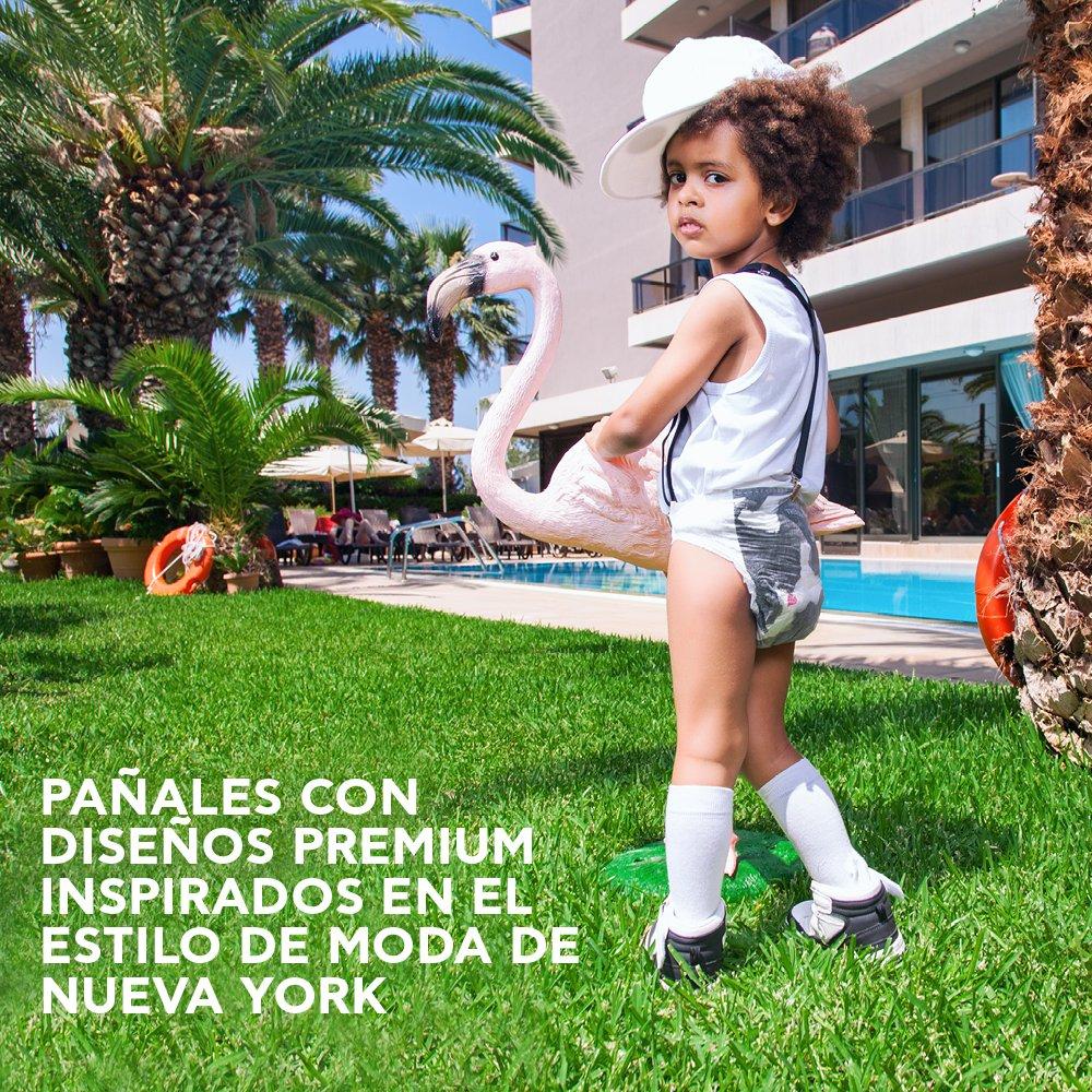 Pufies Trusted Trends Gingham - 28 Pañales, talla 4+, 9-20 kg: Amazon.es: Salud y cuidado personal