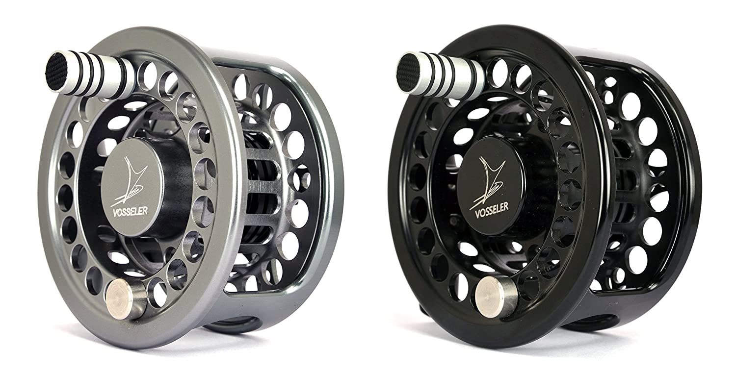 Vosseler dc2 Fly Fishing Reel B00YLBRRPA  ブラック Spool - 3/4wt.