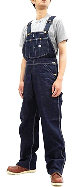 1940s Trousers, Mens Wide Leg Pants LEE Mens Denim Bib Overalls Reproduction Vintage 1940s 91-SB Overall $289.00 AT vintagedancer.com