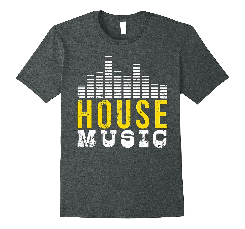 House Music Equalizer T Shirt I Love House Music T Shirt-TD