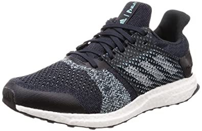 5ded03c4a941e adidas Ultra Boost ST Parley Mens Running Trainer Shoe Blue Mint - US 8