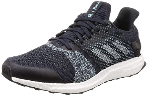 adidas Ultra Boost ST Parley Mens Running Trainer Shoe BlueMint US 9
