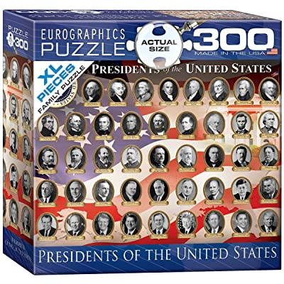 EuroGraphics US Presidents Jigsaw Puzzle (300-Piece): Toys & Games