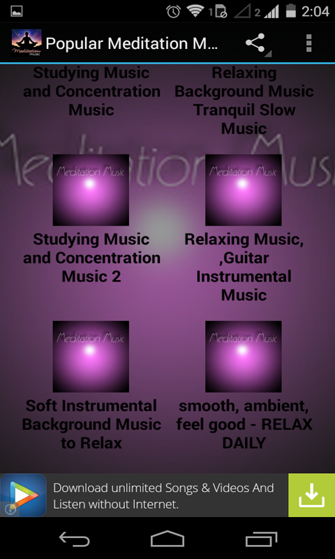 Amazon com: Meditation Music Videos 1: Appstore for Android