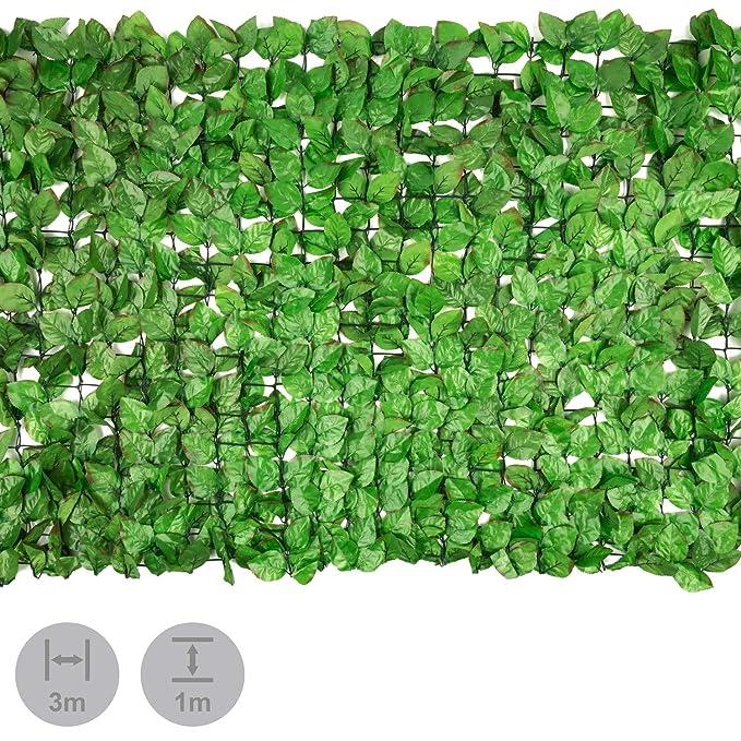 Schermi divisori e protettivi per giardino Arredamento da giardino Reticolato per privacy giardino balcone anche decorativo filo plastica e ferro 300x100cm