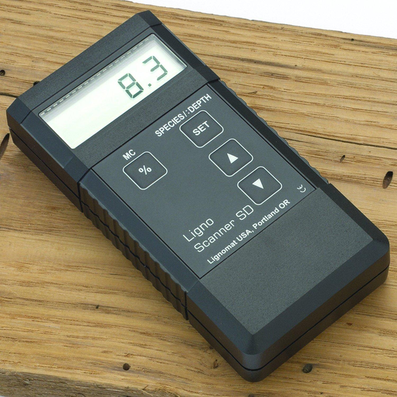 Lignomat Scanner SD Moisture Meter by Lignomat
