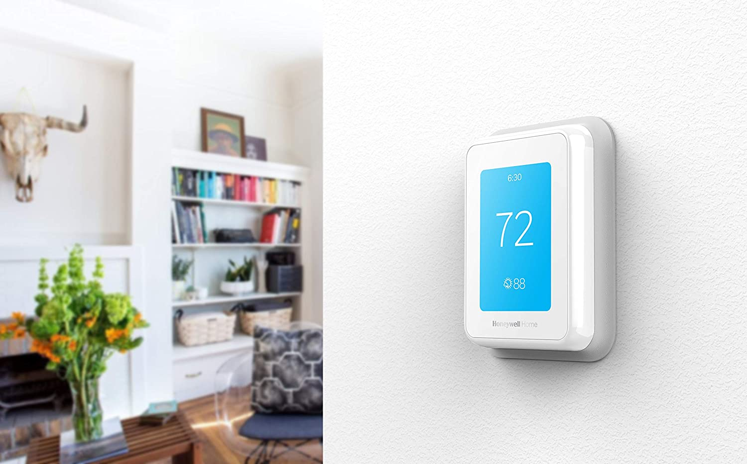 Smart Room Sensor Ready Alexa and Google Assist RCHT9510WFW2001 Honeywell Home T9 WIFI Smart Thermostat Touchscreen Display