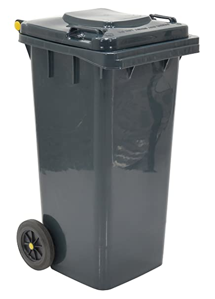 United Solutions Rubbermaid Rm133902 Thirty Two Gallon Round Wheeled Trash Can In Kona Color 32